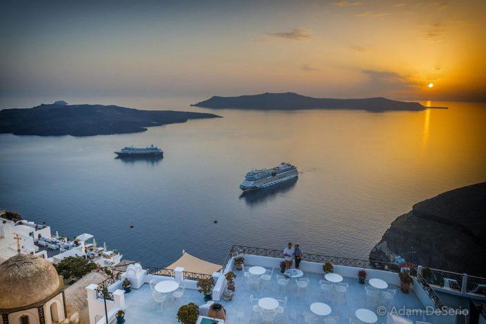 Sunset Cruise, Santorini