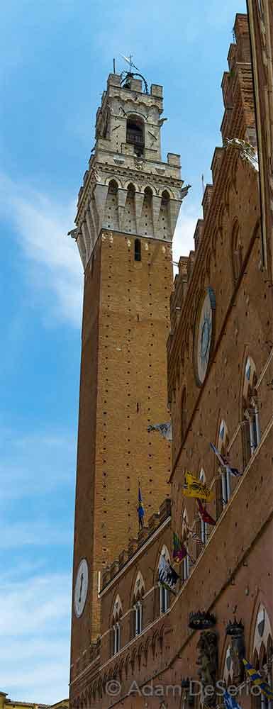 Tower Pano, Palio, Siena, Italy