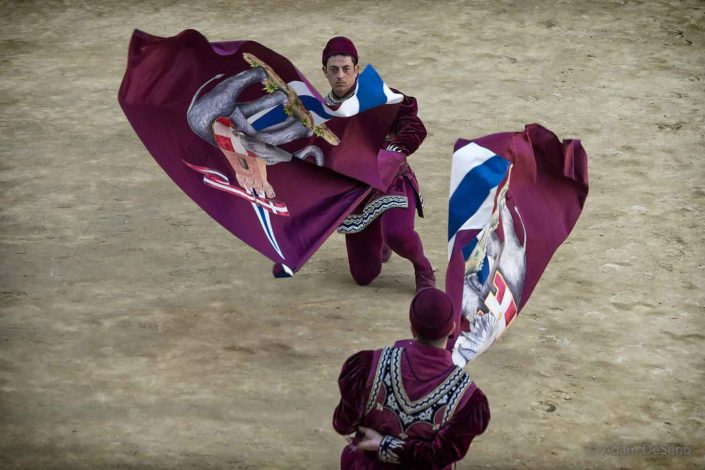Twirl The Flags, Palio, Siena, Italy