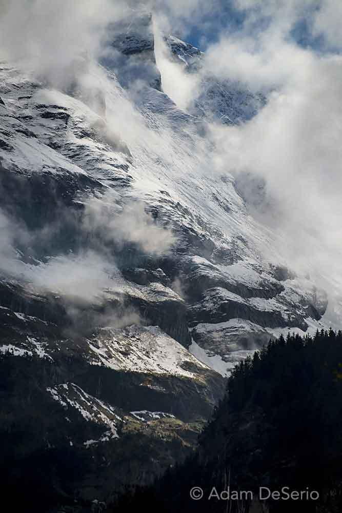 Alp Abstract, Switzerland