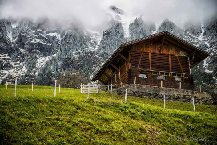 Cabin In The Alps, Switzerland