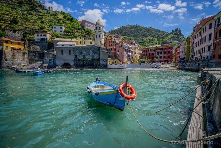 Cinque Terre Boat, Italy