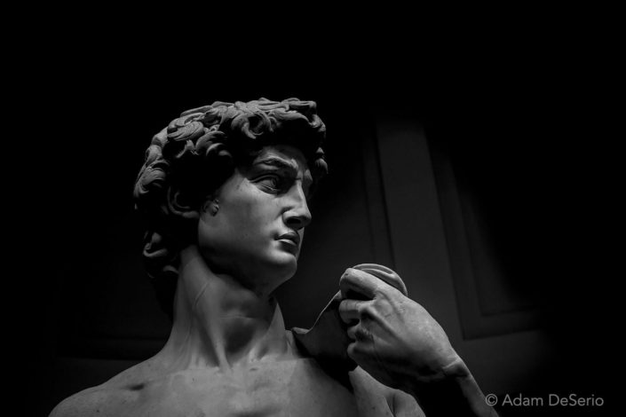 David Face, Florence, Italy