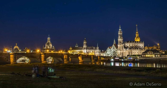 Dresden At Night, Germany