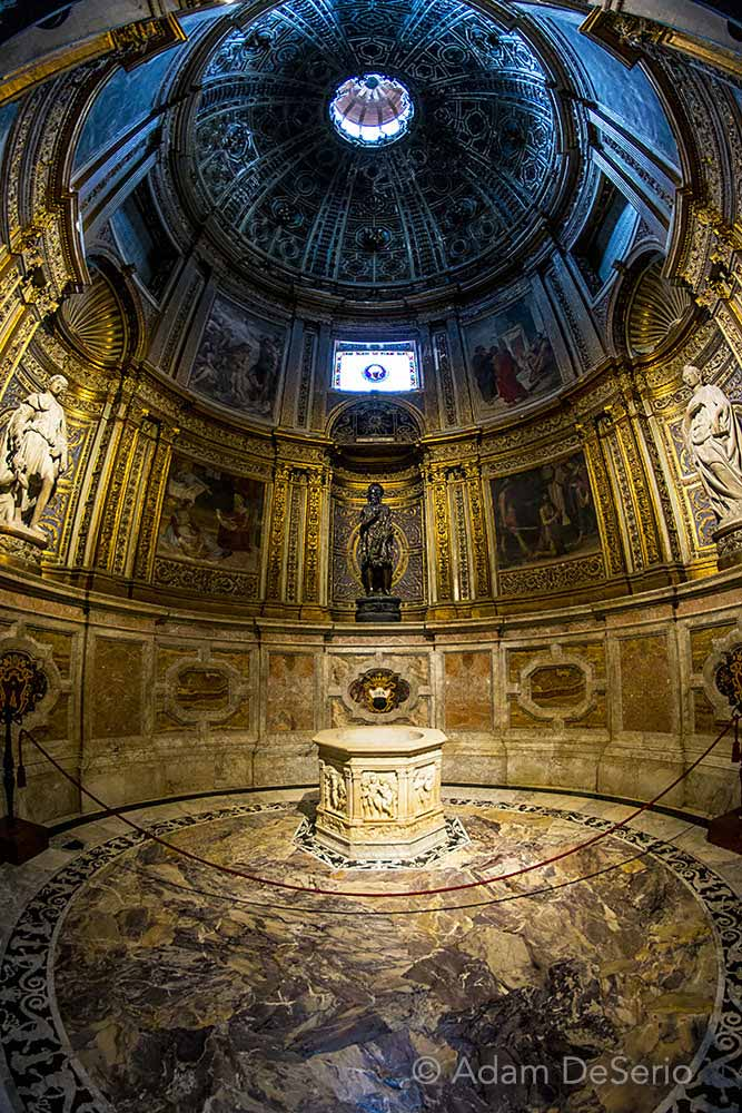 Inside Siena Duomo, Italy