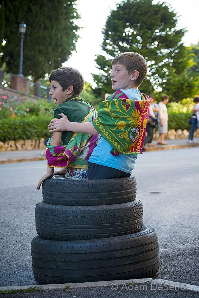 Kids, Siena, Italy