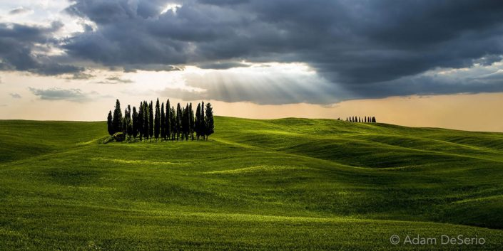 Light From Above, Tuscany