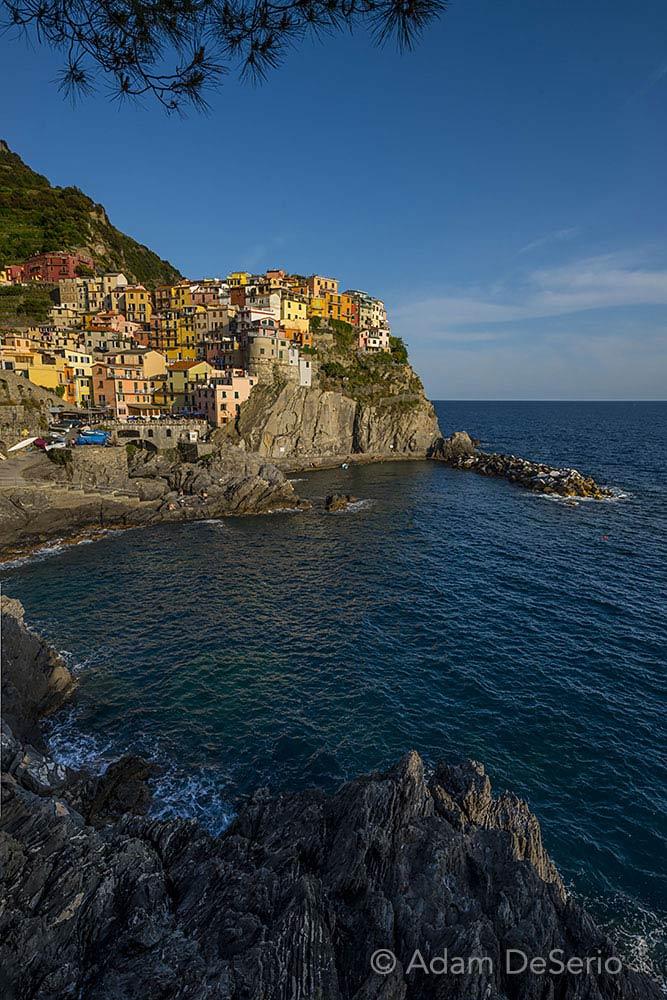 Manarola Coast, Cinque Terre, Italy