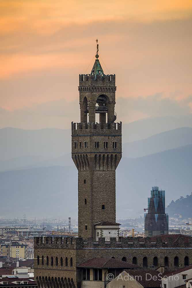 Palazzo Vecchio Sunset