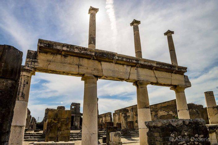 Pompeii Columns, Naples, Italy
