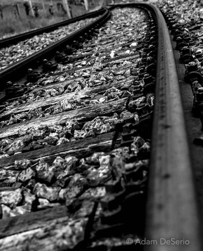 Railroad Tracks, Switzerland