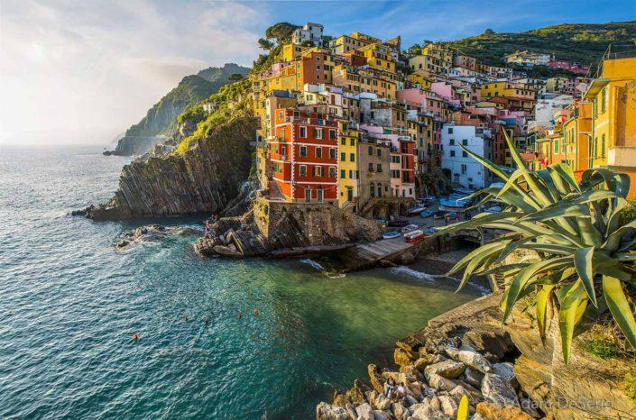 Riomaggiore Afternoon, Cinque Terre, Italy