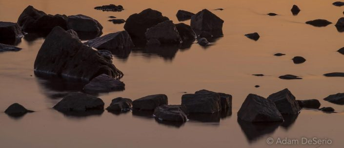 Rocks At Sunset, Germany