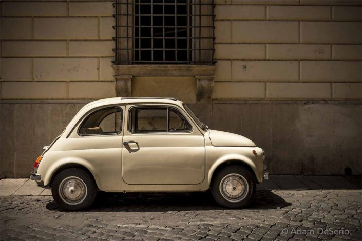 Roman Car, Rome, Italy
