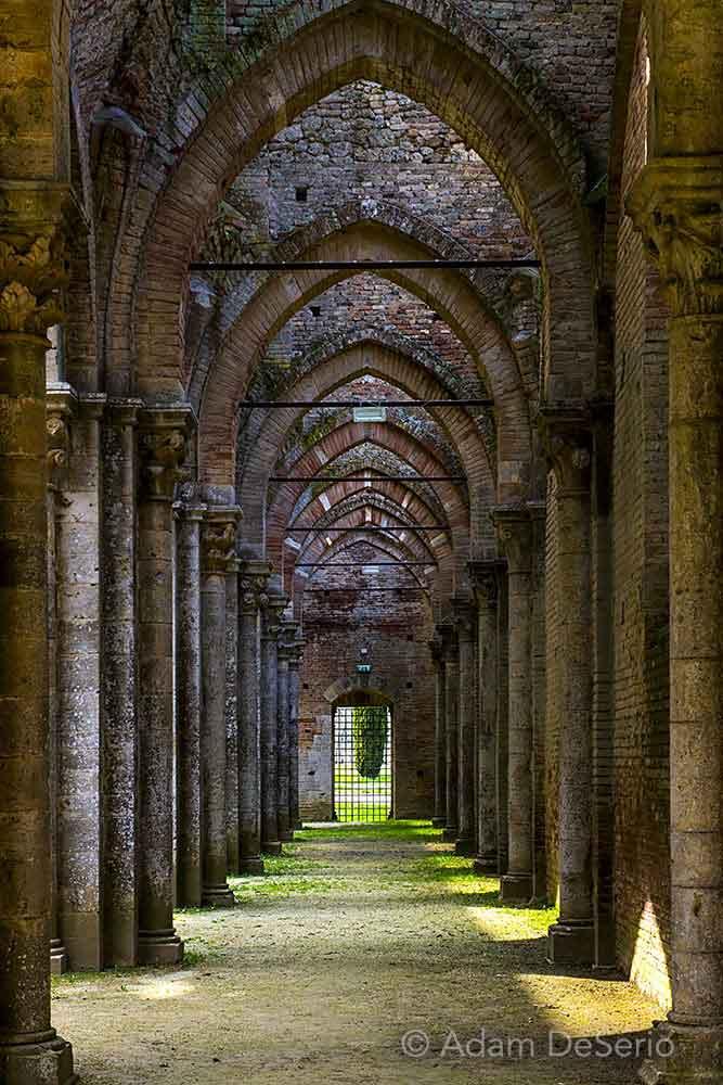 San Galgano Arches, Tuscany