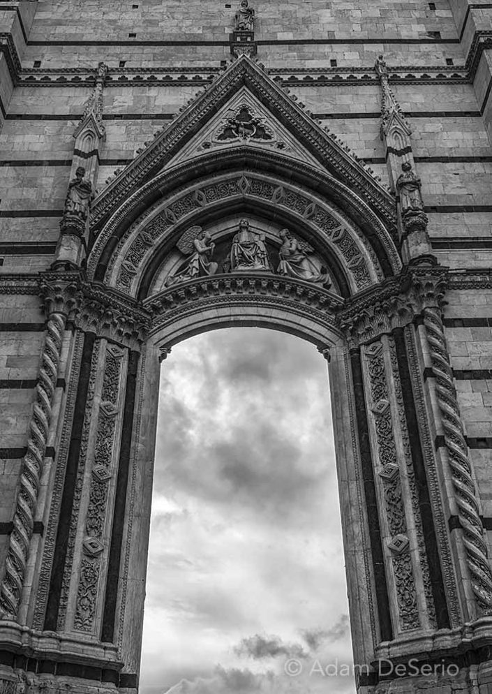 Siena Duomo Door, Italy