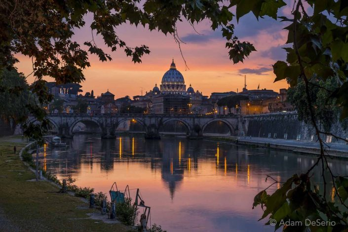The Vatican Sunset, Rome, Italy