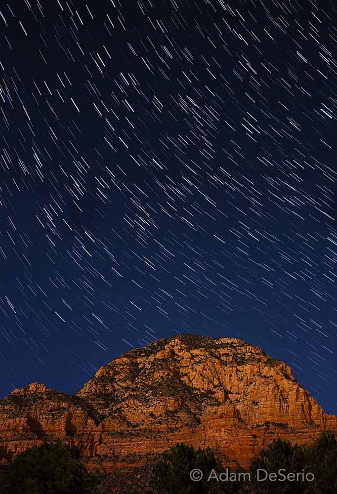 Stars Over Sedona Motion, Arizona