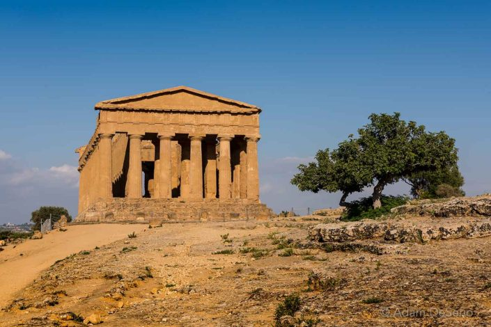 Sicilian Greek Temple