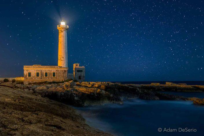 Sicilian Lighthouse