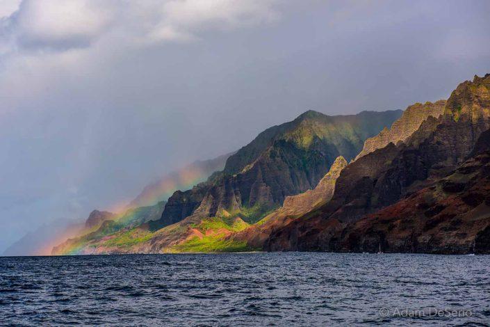Rainbow in Na Pali