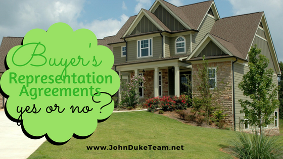 Buyer's Representation Agreements