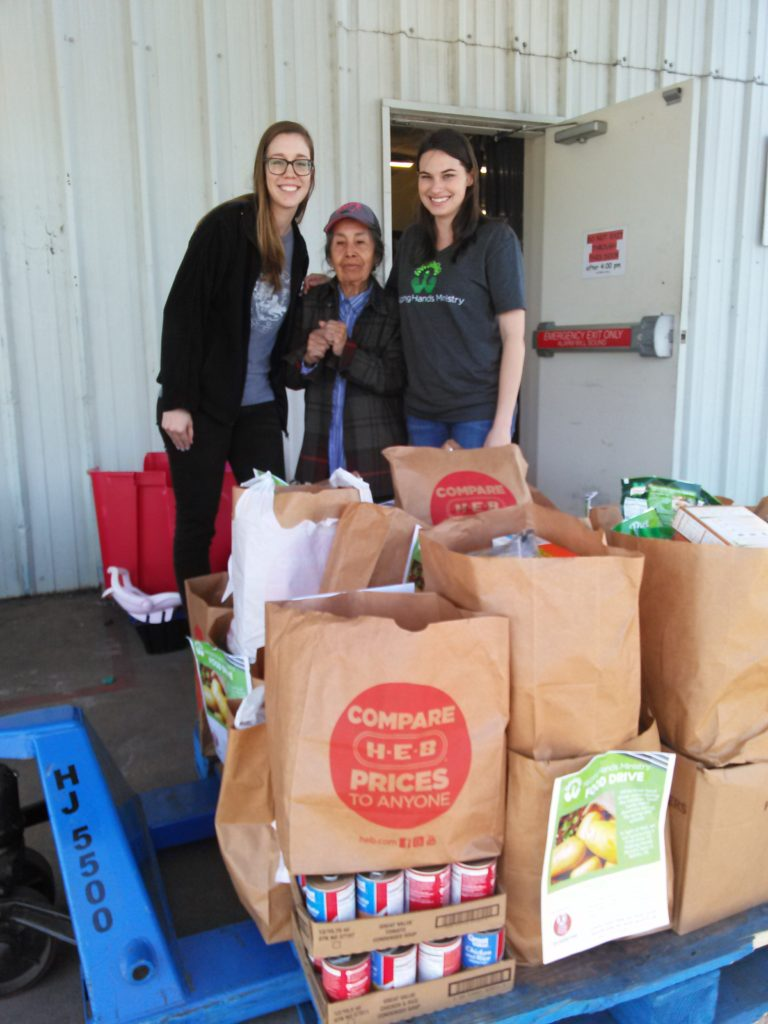 helping hands ministry food drive