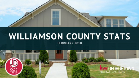 Williamson County February 2018 Stats