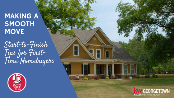 Start-to-finish tips for first-time homebuyers