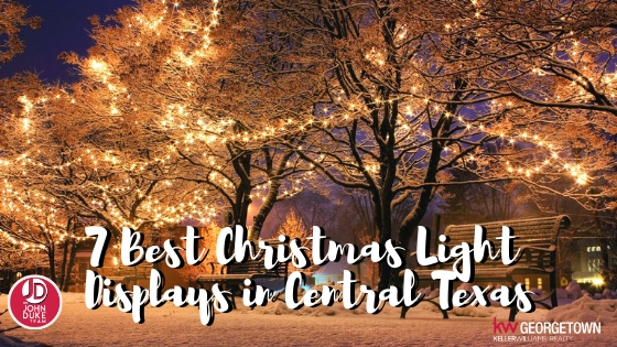 7 Best Christmas Light Displays in Central Texas