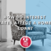 How do interest rates affect a home loan_