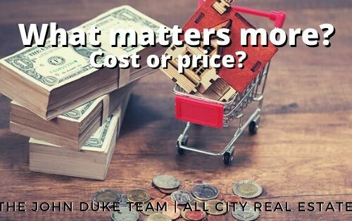 what matters more? cost or price?