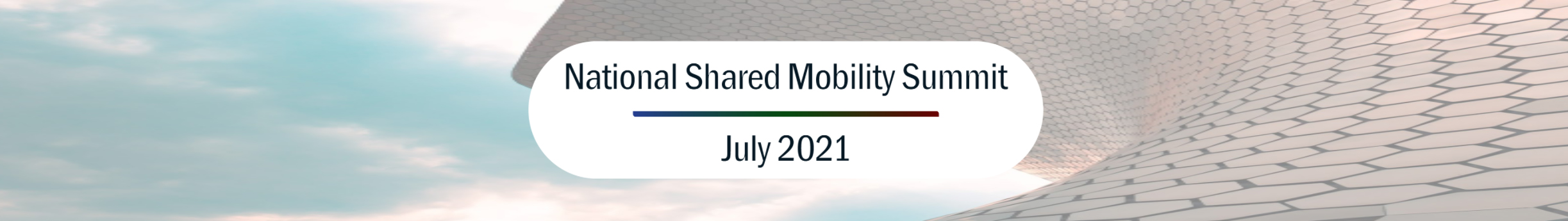 Have big plans for the Summer? Shared Mobility does.