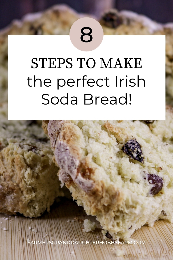This Irish Soda Bread recipe is not too dry, not too moist, and not too crumbly. It has great texture and isn't too bitter or sweet. In other words, this Irish Soda Bread recipe is perfect!