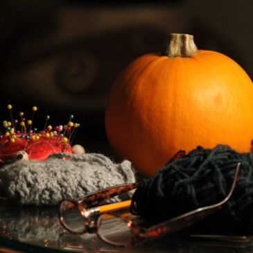 knitting and crocheting in the Fall