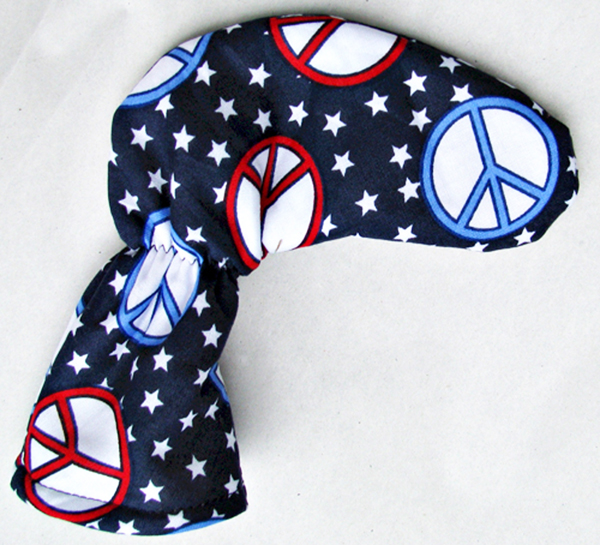 Peace Golf Club Putter Head Cover