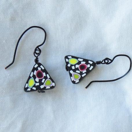 Santa Fe Triangular Earrings