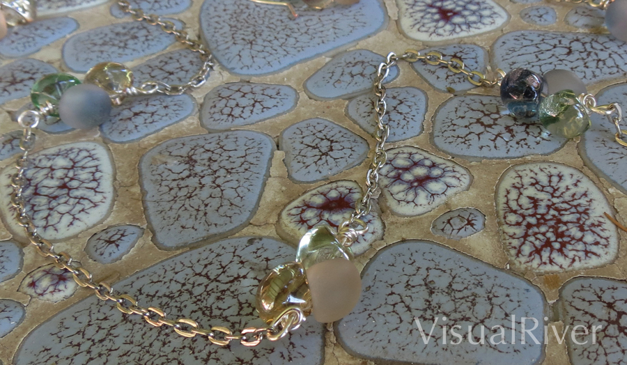 Petal Chain Necklace Set