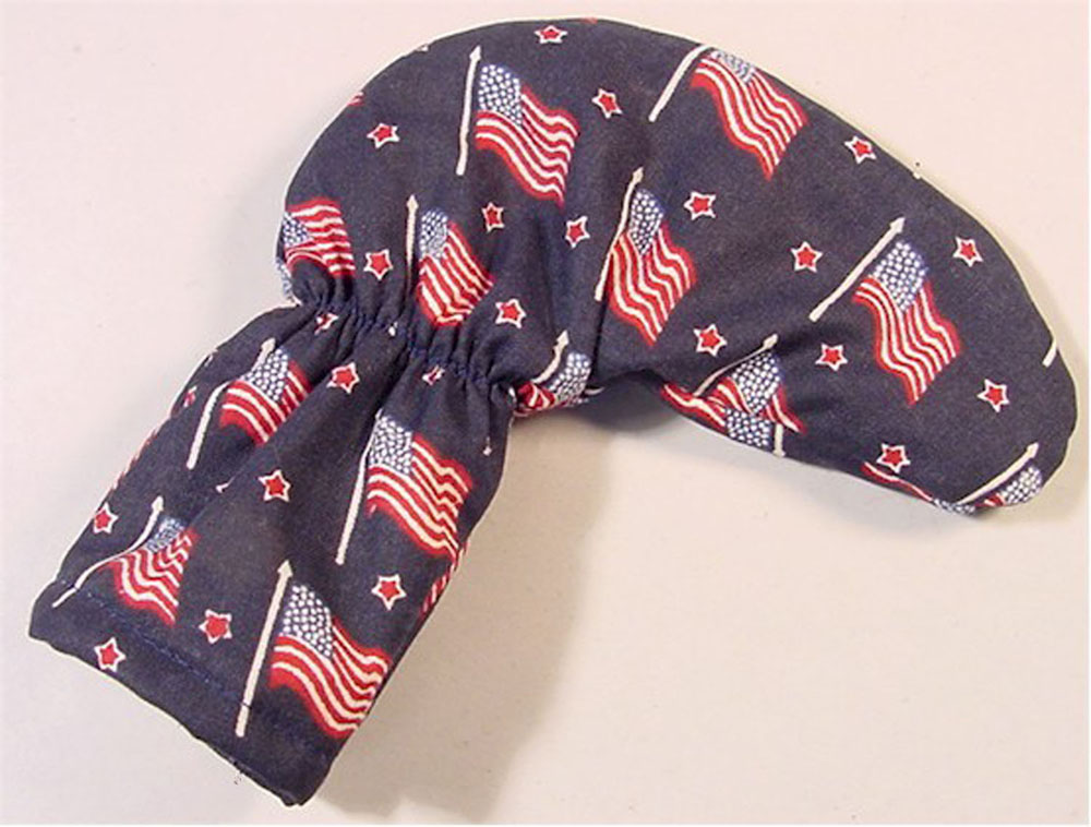 USA Waving Flags Golf Putter Club Cover