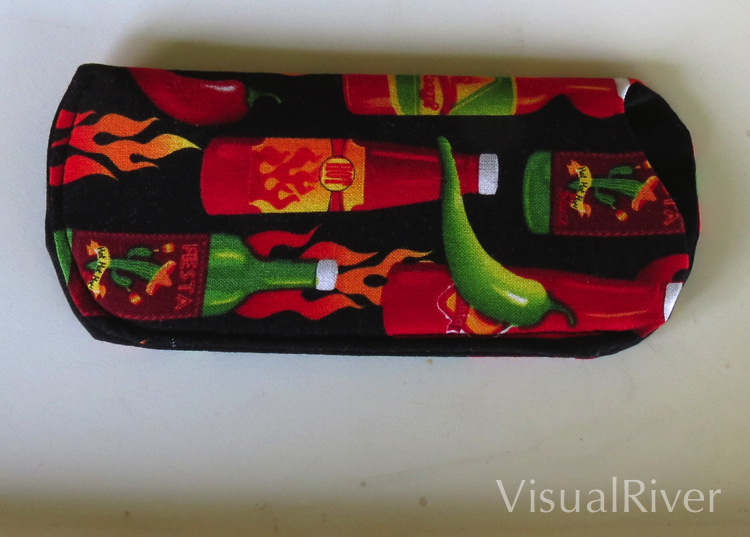 Hot Sauce Eyeglass Case