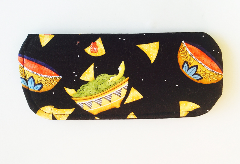 Chips and Salsa Eyeglass Case