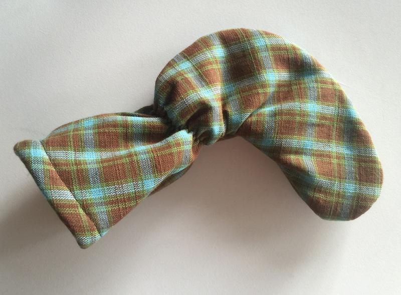 Tartan Plaid Putter Cover Turquoise Brown Olive