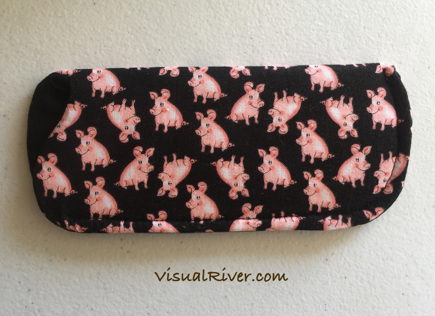 Pig Eyeglass Case