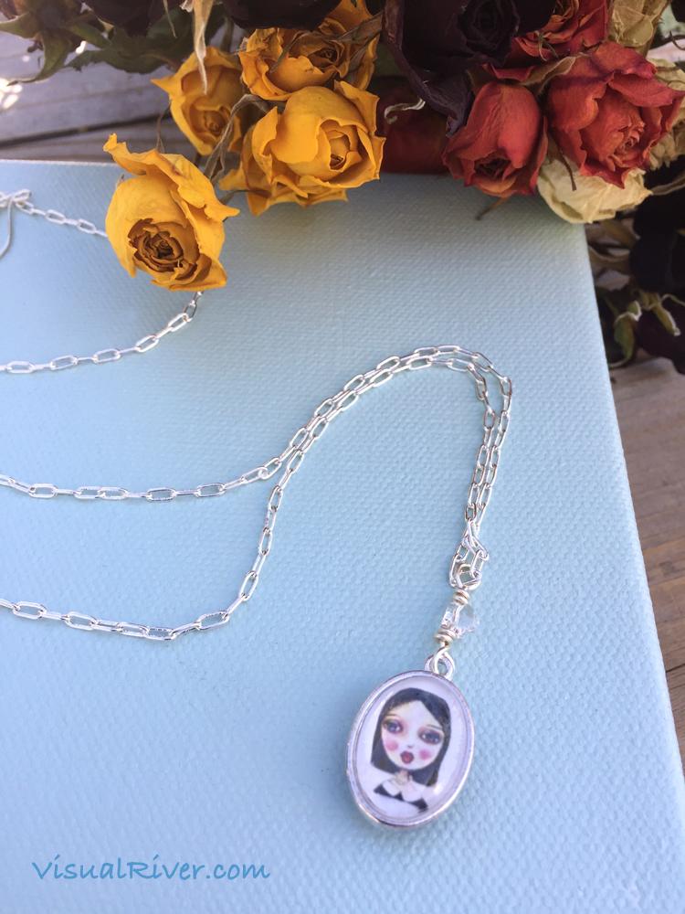 Sylvia and Ms Caluda Pendant Necklace