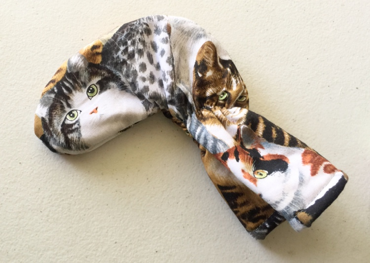 Cat Golf Club Putter Cover