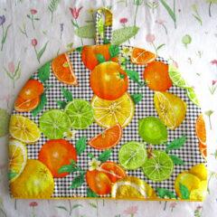 Orange, Lemon and Lime Tea Cozy