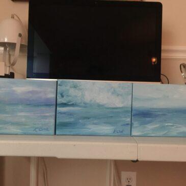 K Cook paintings