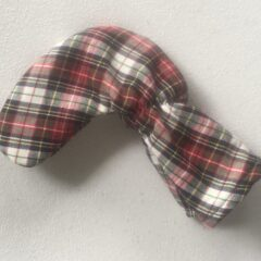 Tartan Plaid Cotton Putter Cover Red, White, Black, Navy and Yellow