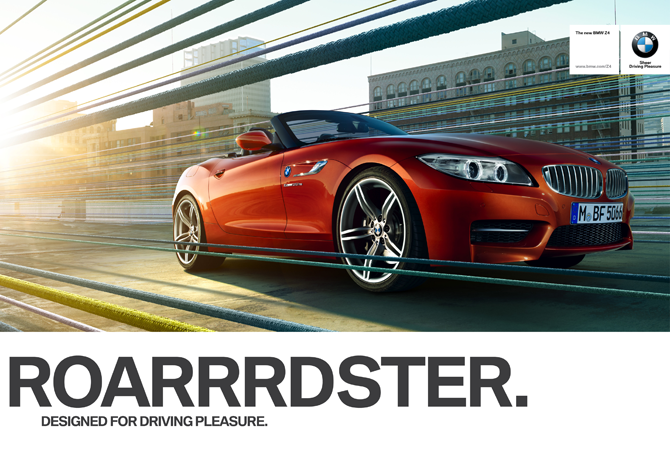The All New and Redesigned BMW Z4