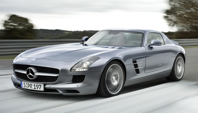 Mercedes-Benz SLS AMG Flagship Sports Car